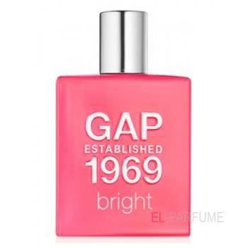 Gap Gap Established 1969 Bright