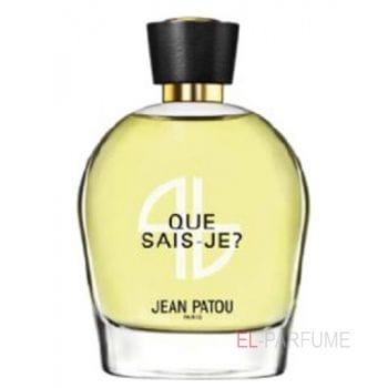 Jean Patou Collection Heritage Que Sais-Je?