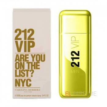 Carolina Herrera 212 VIP (GOLD) Men EDT